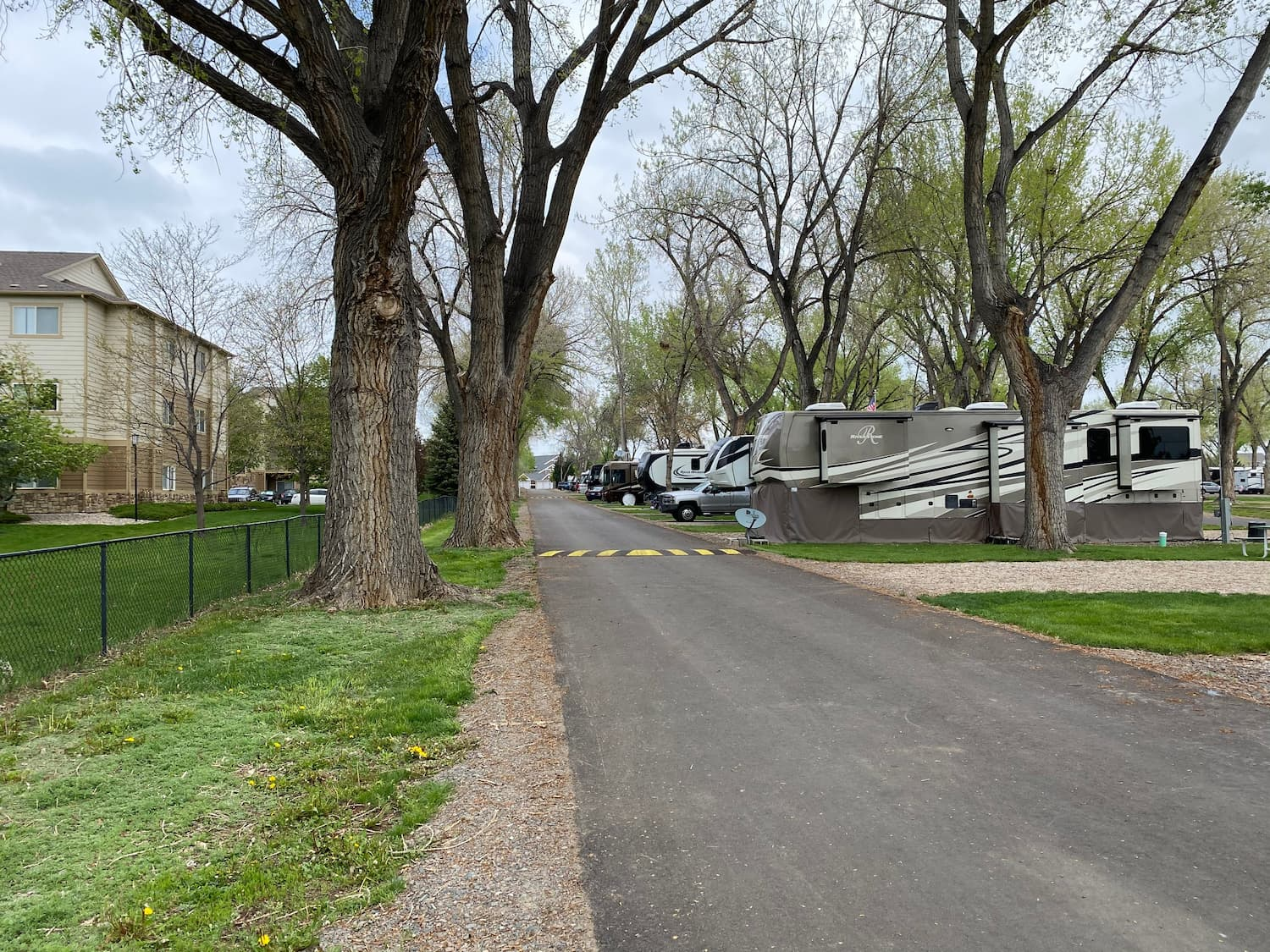 RV park in Fort Collins.