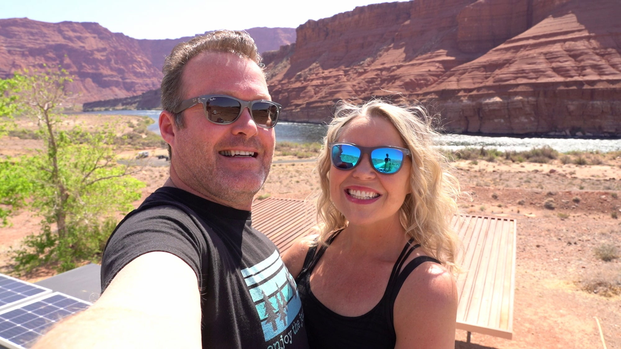 Tom and Cheri of Enjoy The Journey Life in the desert.