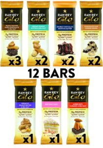 variety pack of protein bars