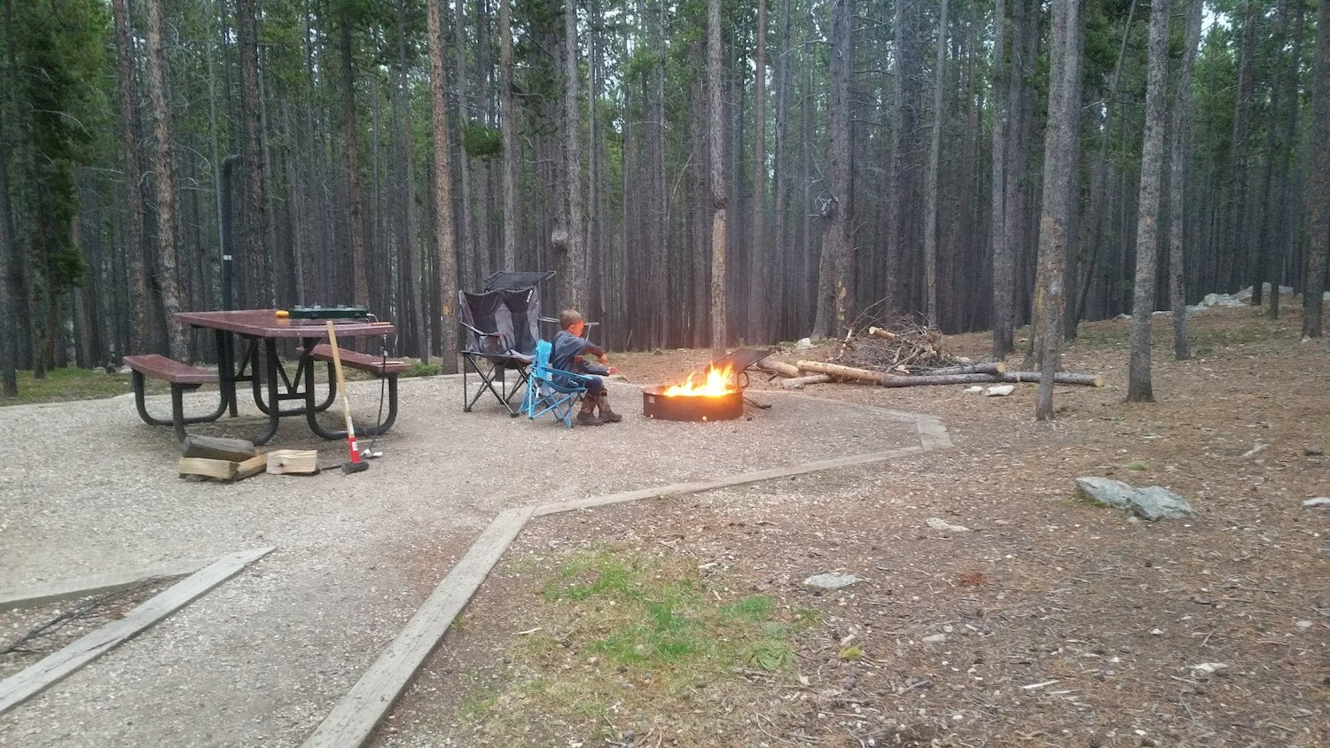fire at camp