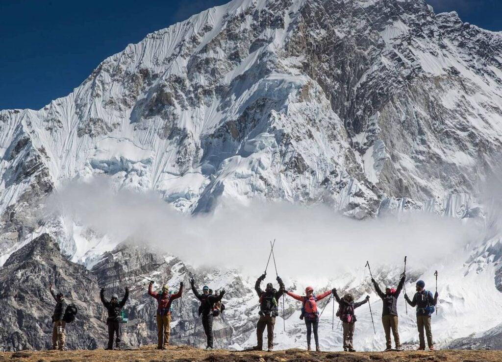 Kristin Bor and the Bearfoot Theory community in Nepal.