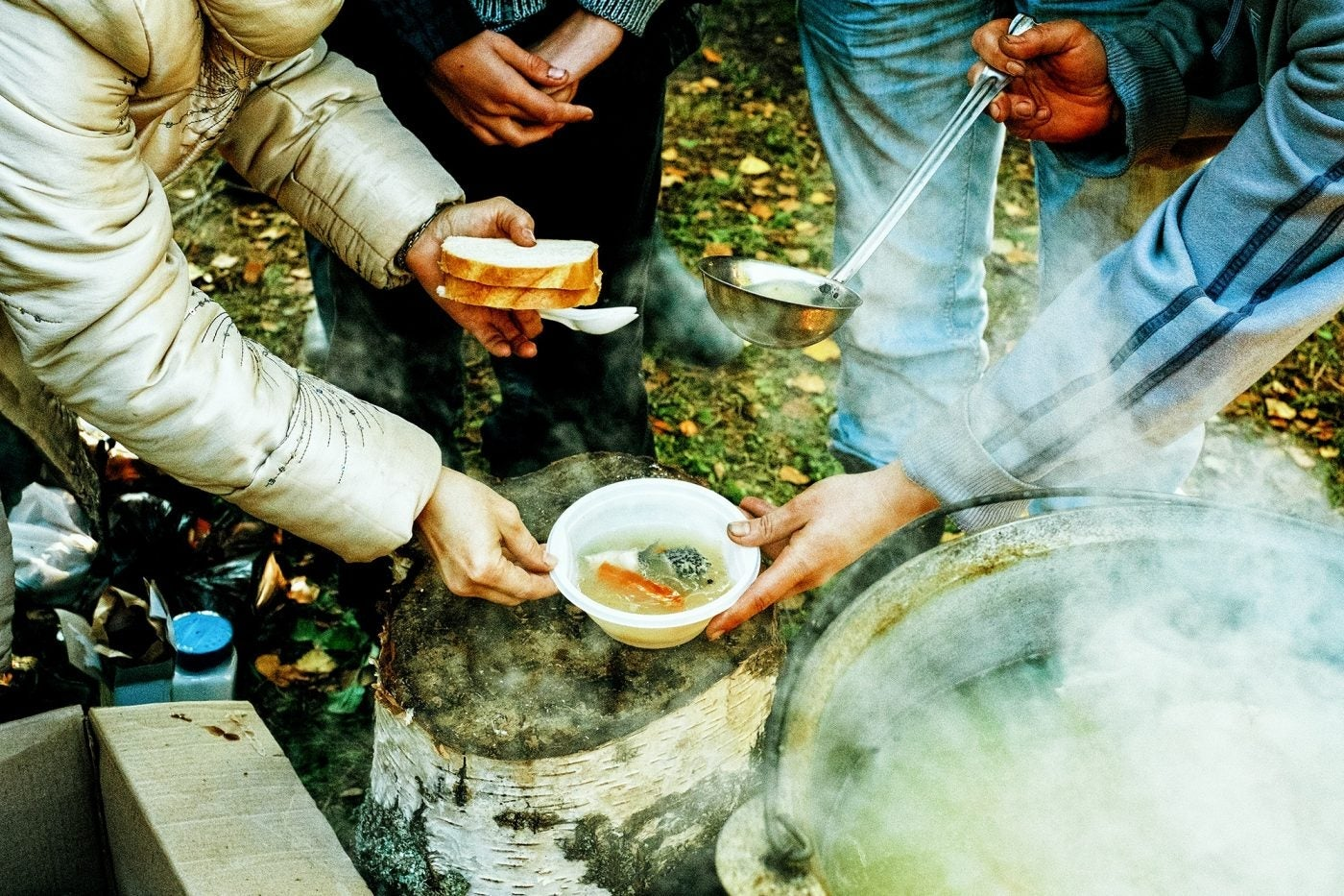 Fall camping recipes to cook at the campsite for a halloween feast.