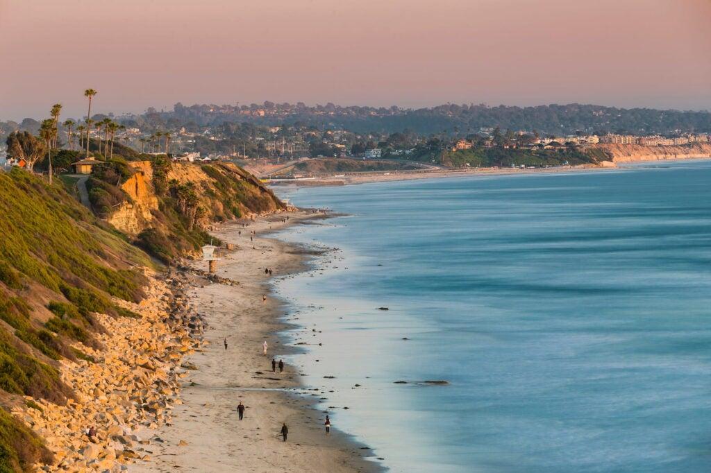 Beach Camping in San Diego